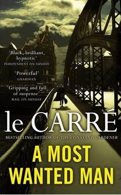 A Most Wanted Man UK paperback by John Le Carre 2012 film Anton Corbijn