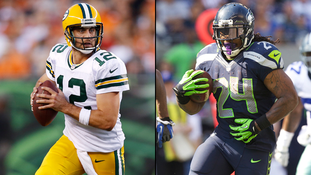 packers and seahawks