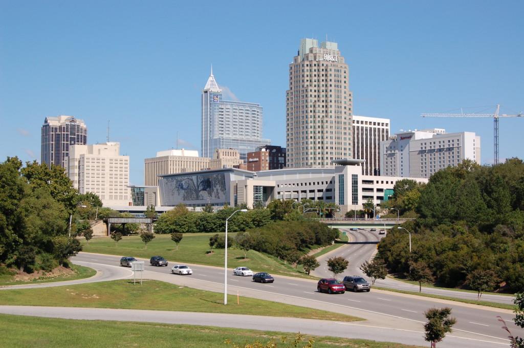 Raleigh-from-Western-Boulevard-Overpass-20081012