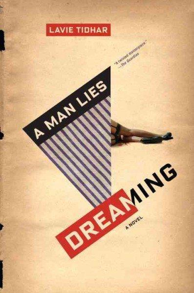 a man lies dreaming