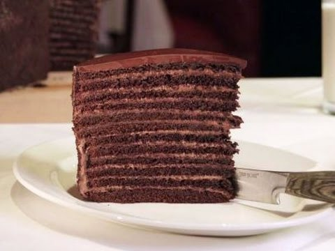 Steakhouise In Nyc With  Layer Chocolate Cake