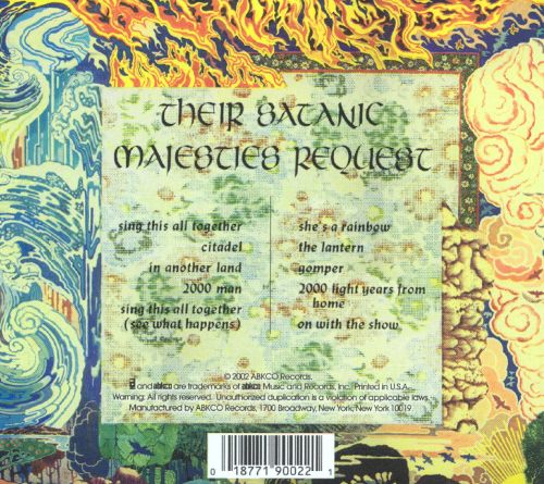 Forgotten Music 76 Their Satanic Majesties Request By